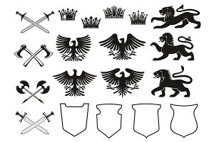 Heraldic elements and symbols