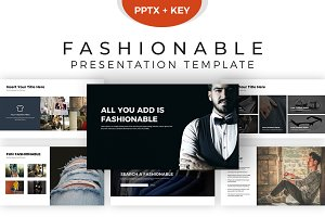 Fashionable Presentation Template