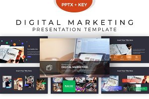 Digital Marketing Presentation Tem