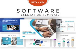 Software Presentation Template