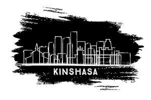 Kinshasa Congo City Skyline