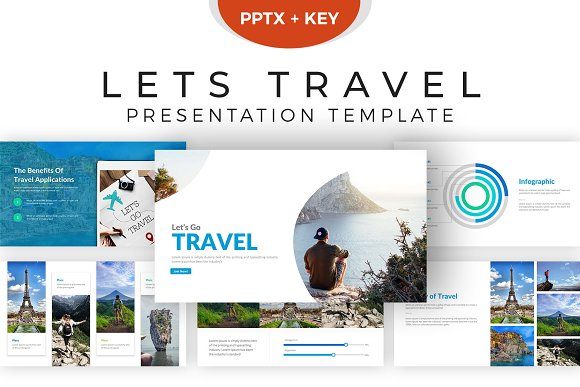 travel presentation template presentation templates creative market