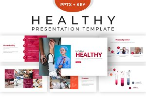 Healthy Presentation Template