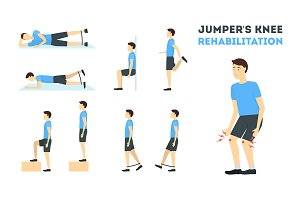 Jumper Knee Rehabilitation