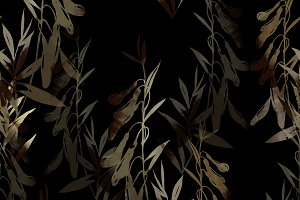 herbs seamless pattern | JPEG