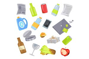 Garbage Waste Items Collection