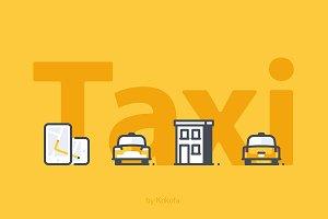 Taksi 44 icons