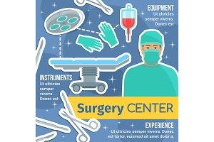 Surgery center poster