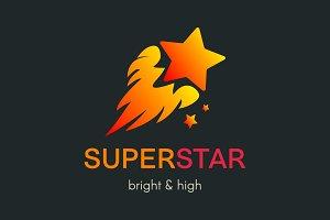 Super Star Logo Template