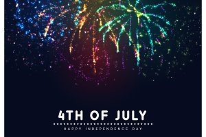 Independence Day USA. 4th of July