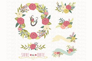 Rustic Wedding Floral Collection