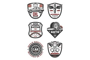 Car repair shop and auto service