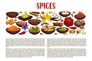 Spices, condiments and seasoning