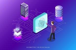 Biometric blockchain