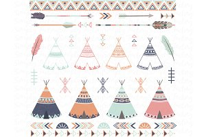 Tribal Teepee Arrow Collections