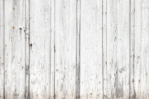 Wooden background Grungy white color