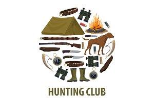 Hunting club poster