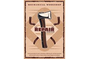 House repair service banner