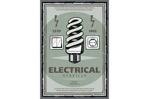 Electrical service poster