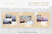 Modern Scrapbook Photobook Template
