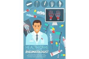 Rheumatology clinic flyer