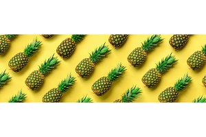 Chaotic pineapple pattern for