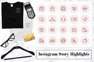 Business Instagram Icons