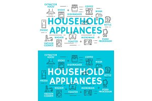 Home appliances and equipment