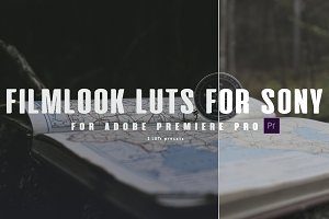 3 FILMLOOK LUTS FOR SONY