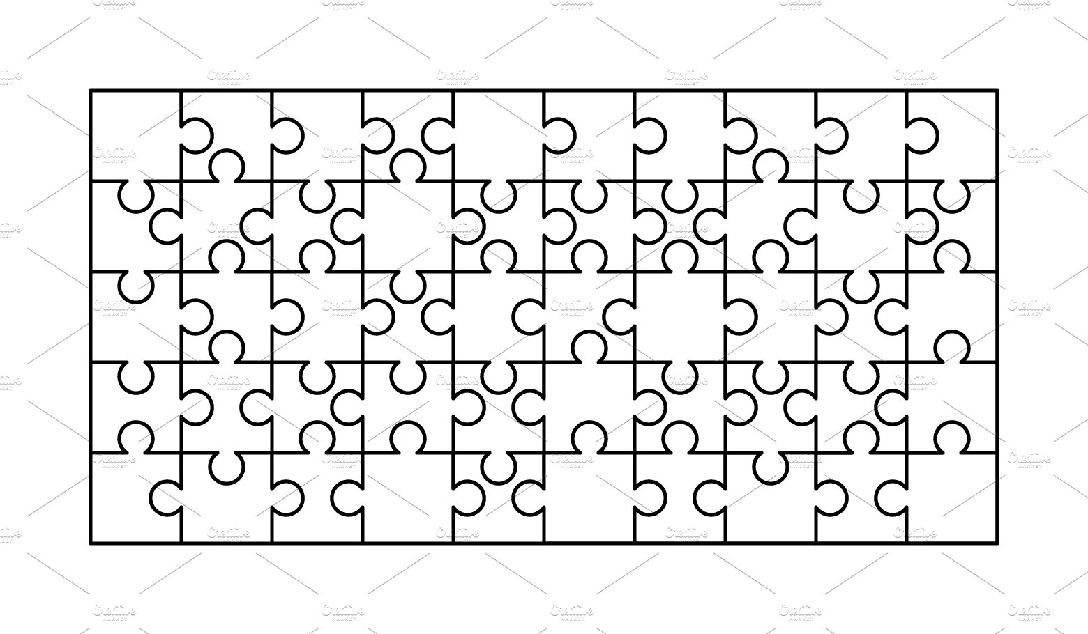 Jigsaw Puzzle Piece Shapes