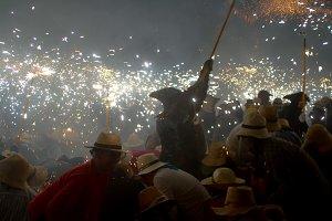 'Correfoc' ('Fire running')