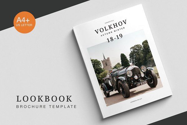 Brochure Templates: BOXKAYU - Volkhov Lookbook