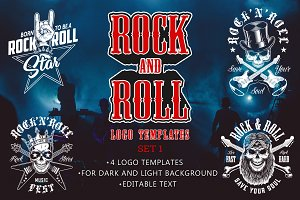 Rock and roll templates