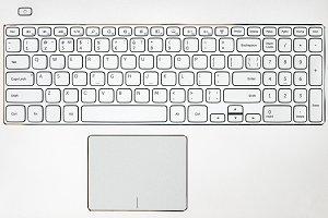 Laptop keyboard background