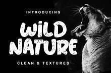 Wild Nature Font