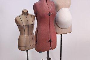 Vintage Tailor Dummy Mannequins II