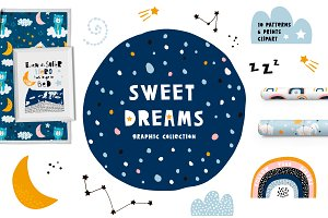 Sweet dreams graphic collection