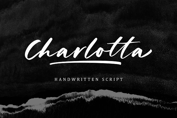 Fonts - Charlotta - Handwritten Script