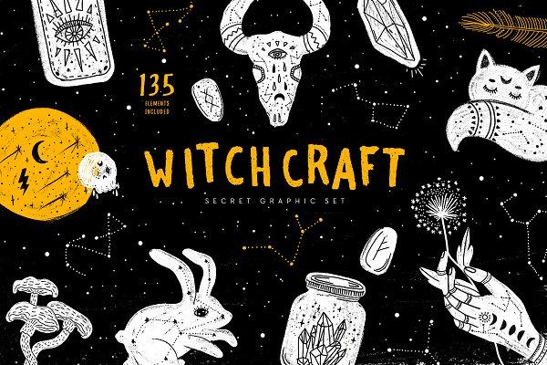 Witchcraft. Secret Graphic Set