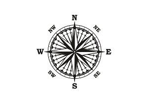 Navigation compass arrows