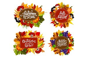 Autumn fest harvest
