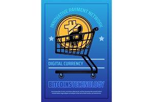 Bitcoin technology poster