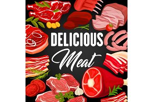 Meat products and sausages