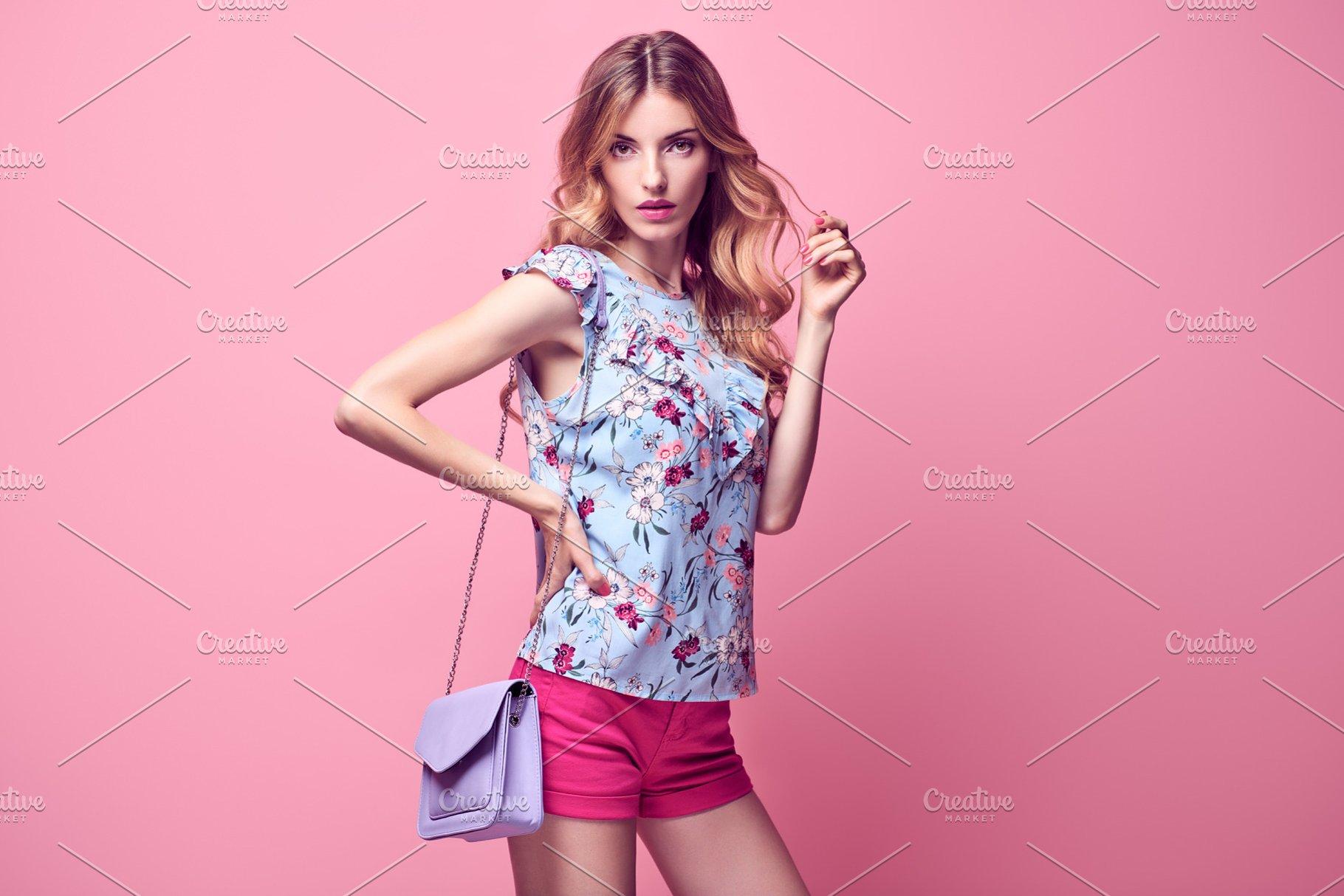 82068f180 Sensual Blonde model woman ~ Beauty   Fashion Photos ~ Creative Market