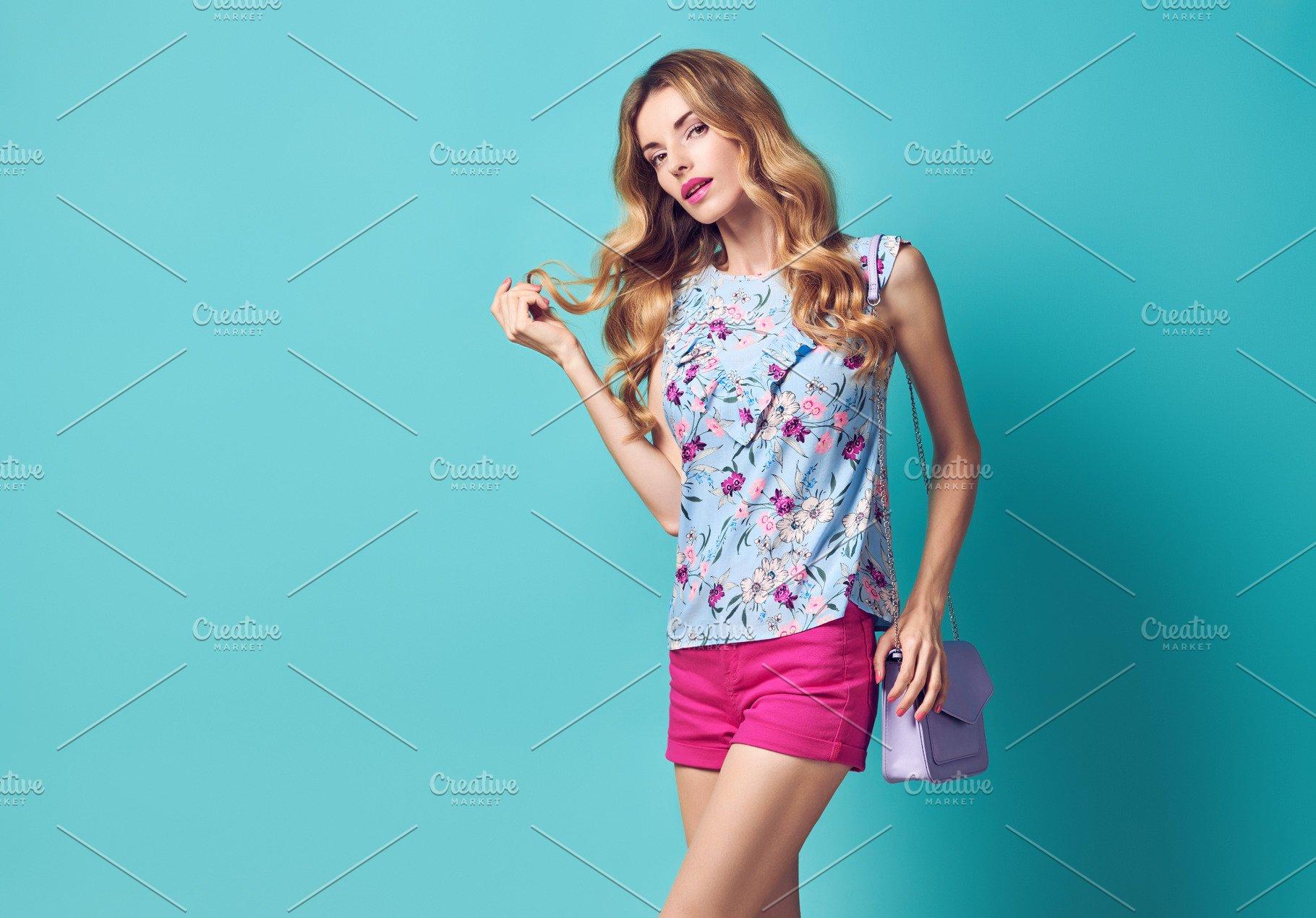 dc7a82c77b1cd Sensual Blonde model woman ~ Beauty   Fashion Photos ~ Creative Market