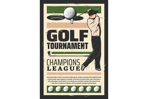 Golf champion league tournament