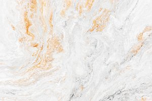 Hand-painted white marble texture wi