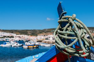 Traditional fishing boat, Portugal