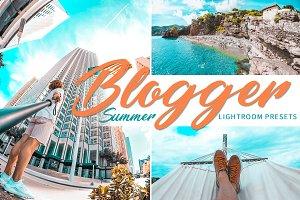 Summer Blogger Lightroom Presets