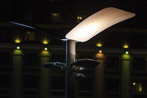 unusual lantern in the dark